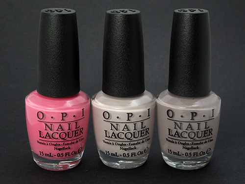 OPI Brazil Collection polishes