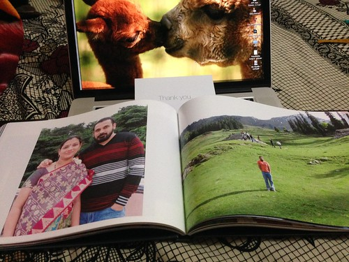 loved the gorgeous photobook (11''x8.5'')