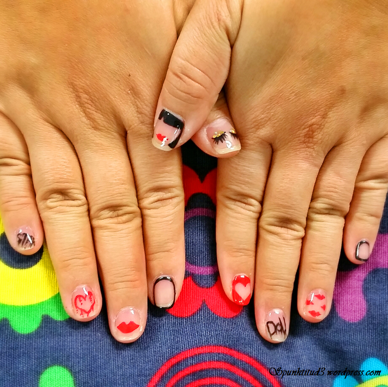 Nail Art - Dolly