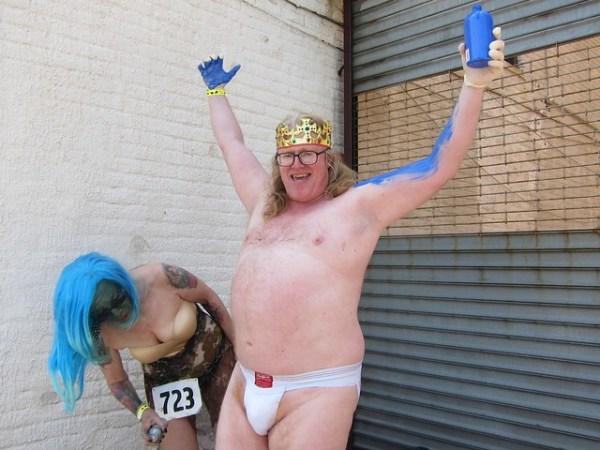 Coney Island Mermaid Parade 2013: Big Mike