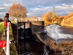Knowsthorpe to Thwate Mills Walk - Thwate Gate Weir & Lock