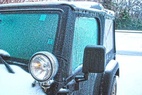 Frozen Jeep