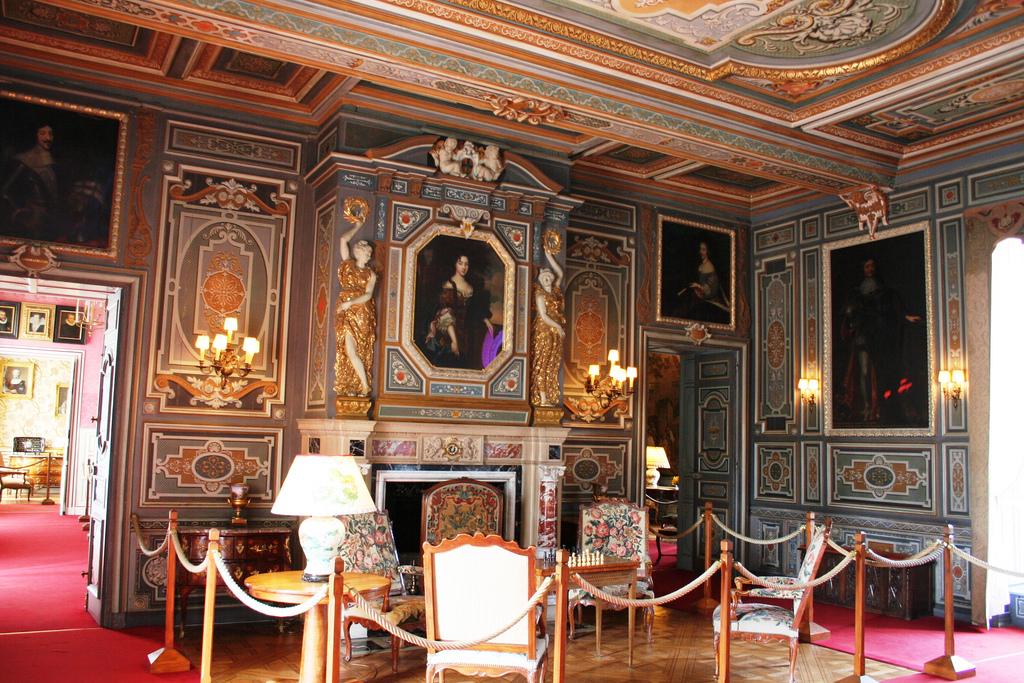 Una de las salas del castillo de Cheverny, en el país del Loira. Autor, B.roveran