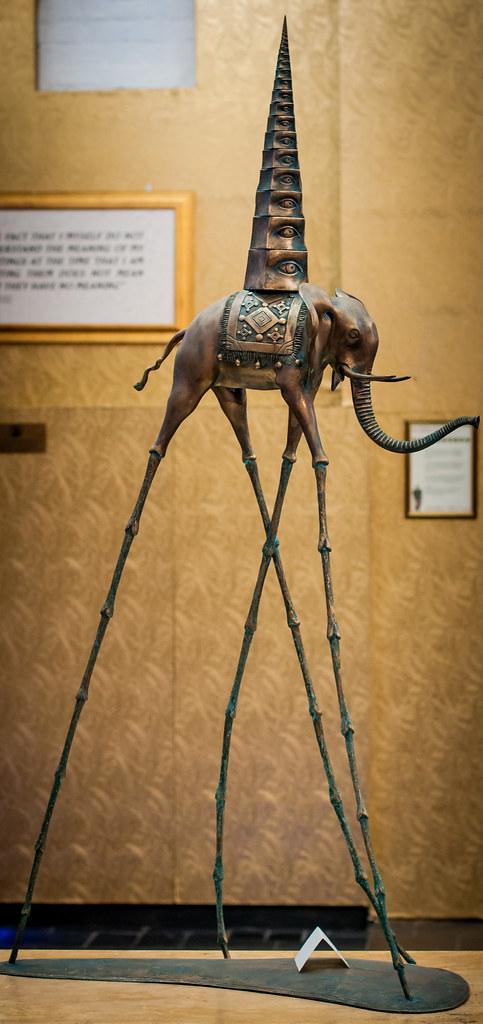 Salvador Dali exhibit, Bruges