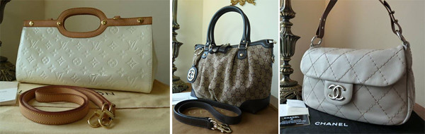 Chanel Gucci LV montage