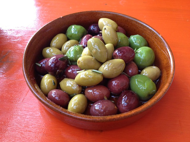 Citrus marinated olives - Percy's & Co.