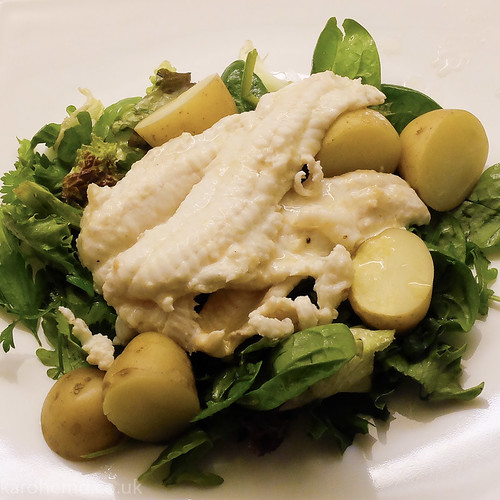 Poached Dover Sole