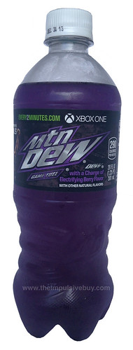 Mountain Dew Game Fuel Electrifying Berry