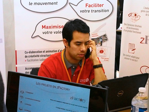 AG13 : Christophe Campan au travail