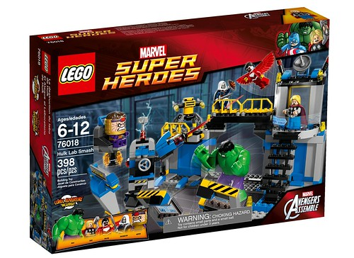 76018 Hulk Lab Smash BOX