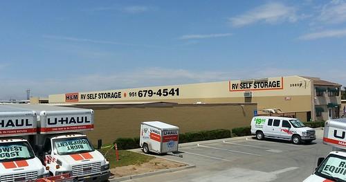 H&M Storage - back wall