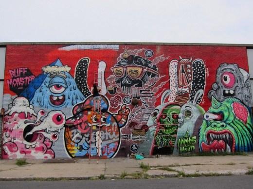Nychos, Tristan Eaton, Lamour, Sheryo, The Yok, Buff Monster, Bushwick Collective