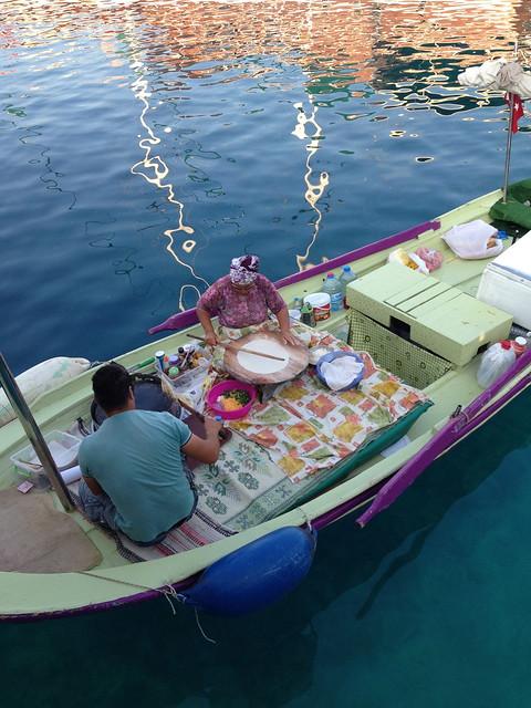 Gözleme boat