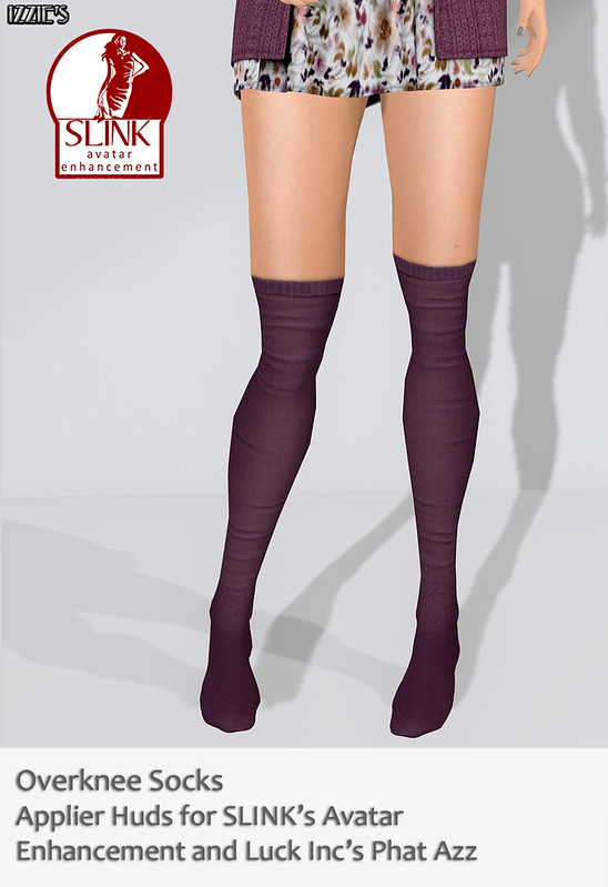 Overknee Socks Appliers released