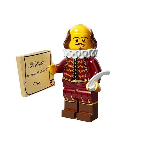 The LEGO Movie Minifigures William Shakespeare