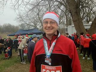 Dan and his medal
