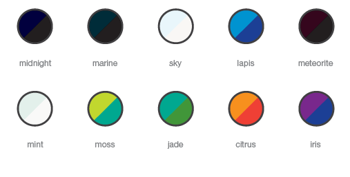 Polarized Color Zones