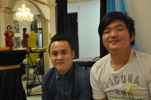 Alvin and Brandon