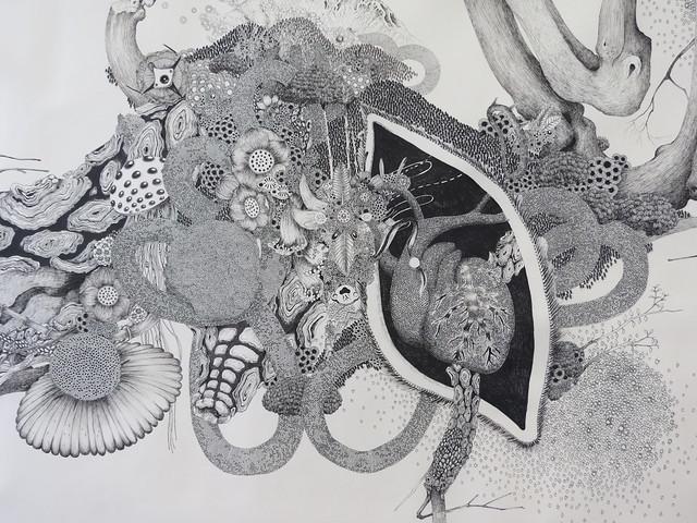 "Exhibition: Hiroko Masuko ""bonsai extension"" at the ICN gallery"