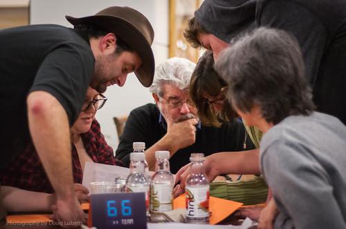 George Lucas Dave Filoni Lucasfilm Trivia Night Presidio