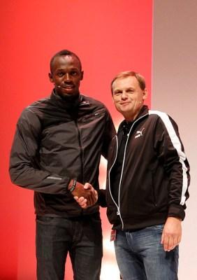 Usain Bolt renueva contrato con Puma