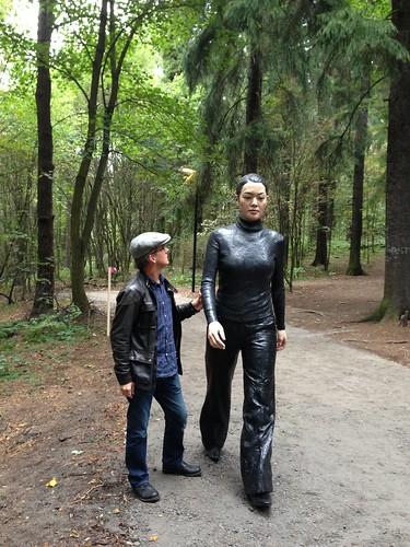 Sean Henry, Walking woman. Ekebergparken, Oslo