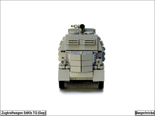 SdKfz 7/2 (Gep) FlaK 36 37mm. de Panzerbricks