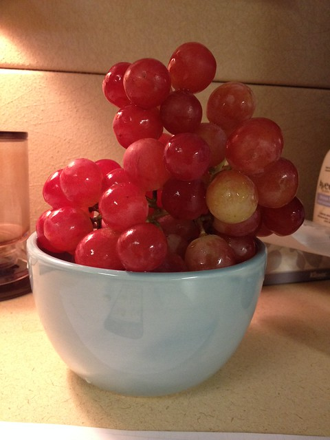 these grapes are big and beautiful and delicious! #project365