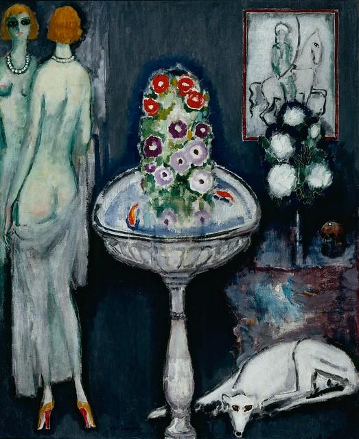 Kees van Dongen, La vasque fleurie, 1913-17