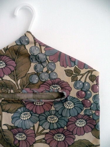 Handmade Peg Bags in Vintage Fabric