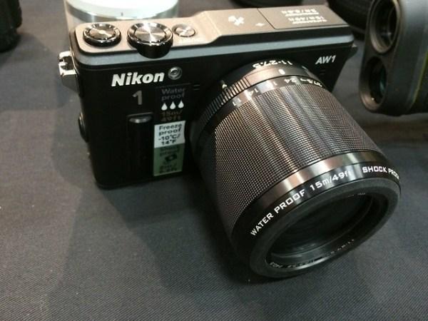 Nikon's AW1 waterproof camera