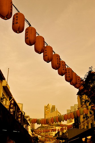 S'pore - Chinatown laterns