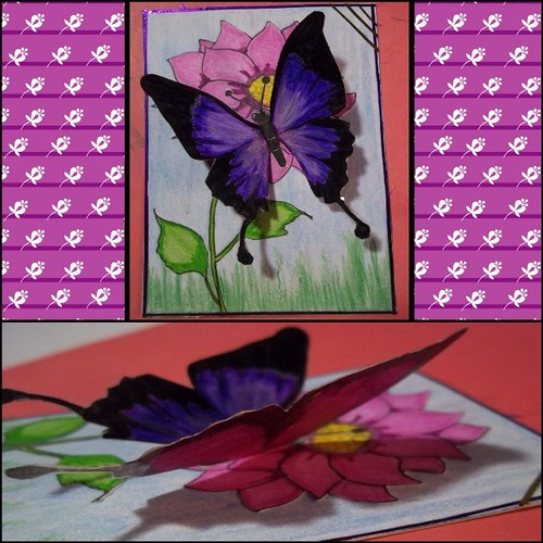 My Butterfly ATC by oddbroad