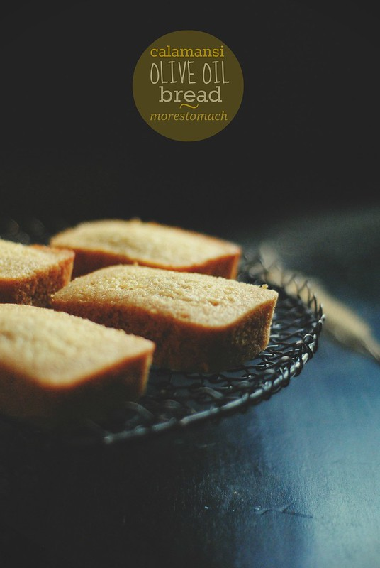 Calamansi Olive Oil Bread