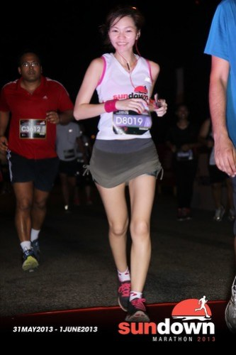 Charmaine Lee - sundown half marathon