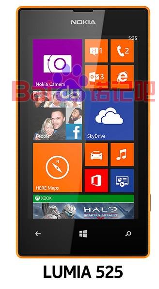 Nokia lumia 525 Leaked image