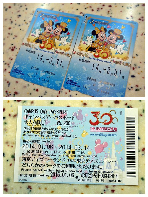 DisneySea 2014, Day