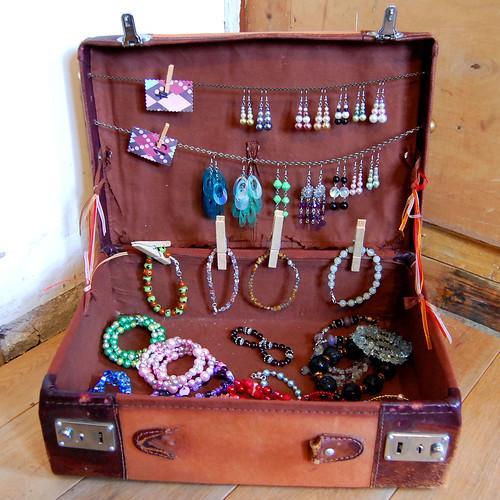 craft fair crea markt Studio Paars pincushions speldenkussens boekenleggers bookmarks jewellery sieraden