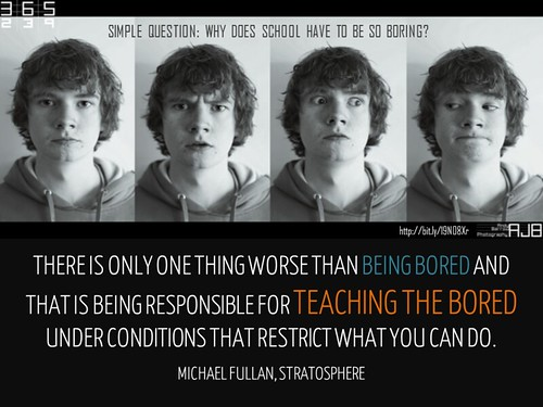 Slide_TeachingtheBored by William M Ferriter