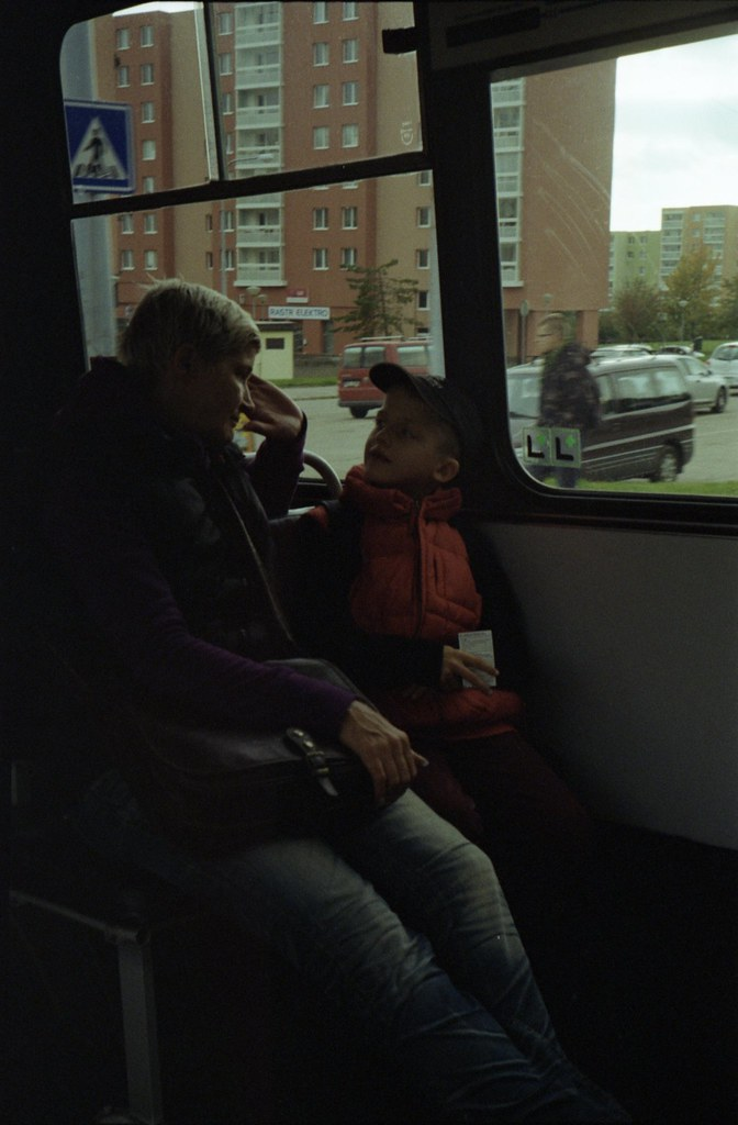 Kiev 4 - New Scan - Mother and Son in the Bus