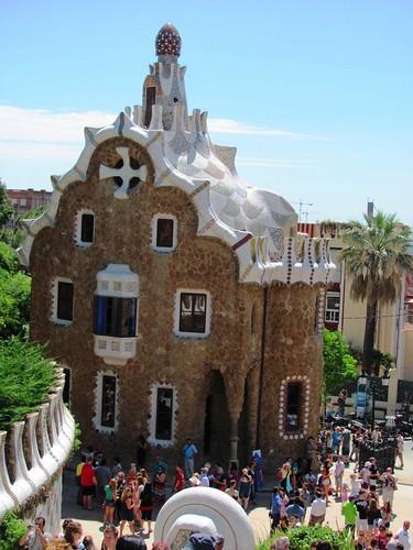 Barcelona, Spain Park Guell