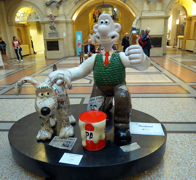 Newshound by Nick Park CBE