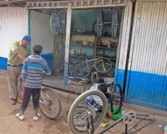 Bike Culture In Peru
