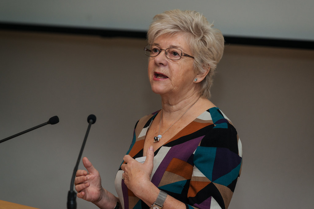 Lesley Page, President of the Royal College of Midwives