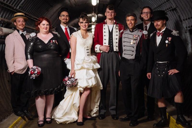 Lovepocalypse! Post-apocalyptic Carnival Wedding Party