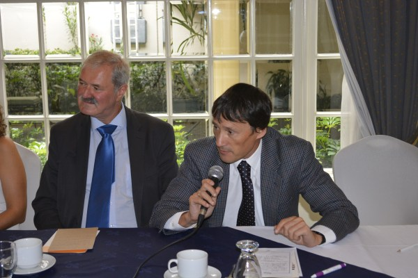 Andrew Tate Of British Embassy Addresses Cidse Delegat - Sharing