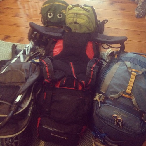 Trip Eve! Bags just about packed...