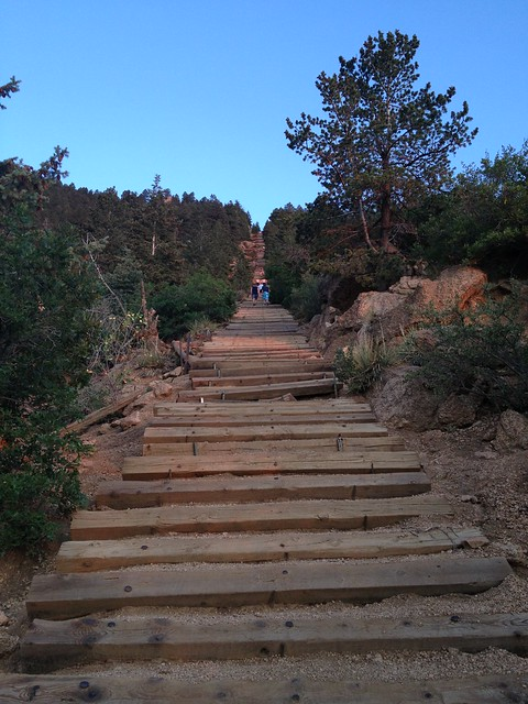 Picture from The Incline In Manitou Springs