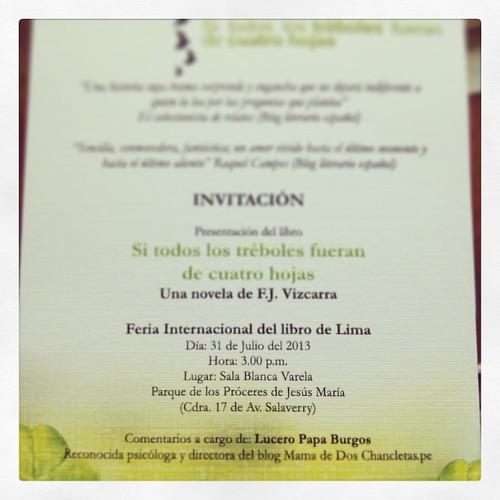 invitacion si todos los treboles