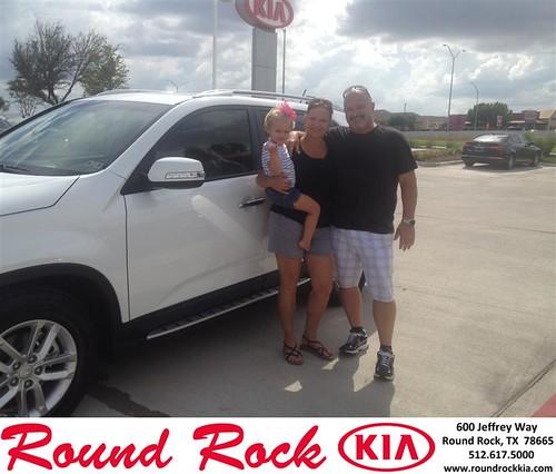 Thank you to Tamara Bunner on your new 2014 Kia Sorento from Bobby Nestler and everyone at Round Rock Kia! by RoundRockKia